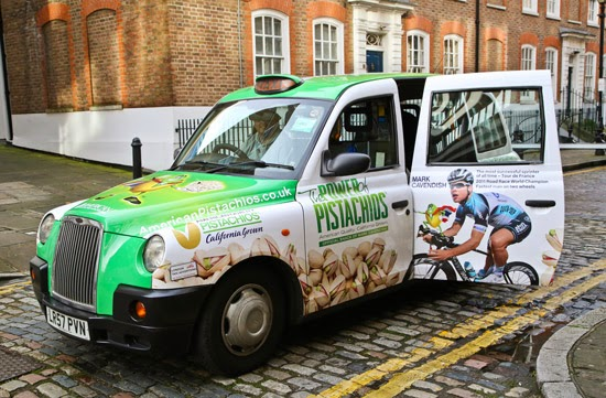 Taxi Livery Advertising Transport London