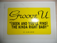 Groove U. - (Seek And You'll Find) The Kinda Right Baby (VLS) (1994)