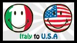 Italy --> USA! ♥