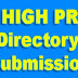 High PR Directory List