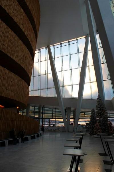 Oslo opera w środku