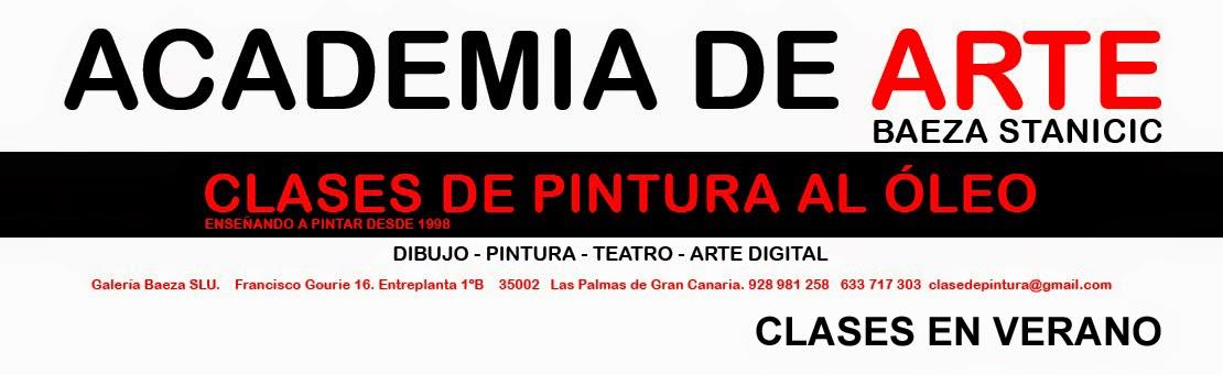 Clase de Pintura en Las Palmas de Gran Canaria