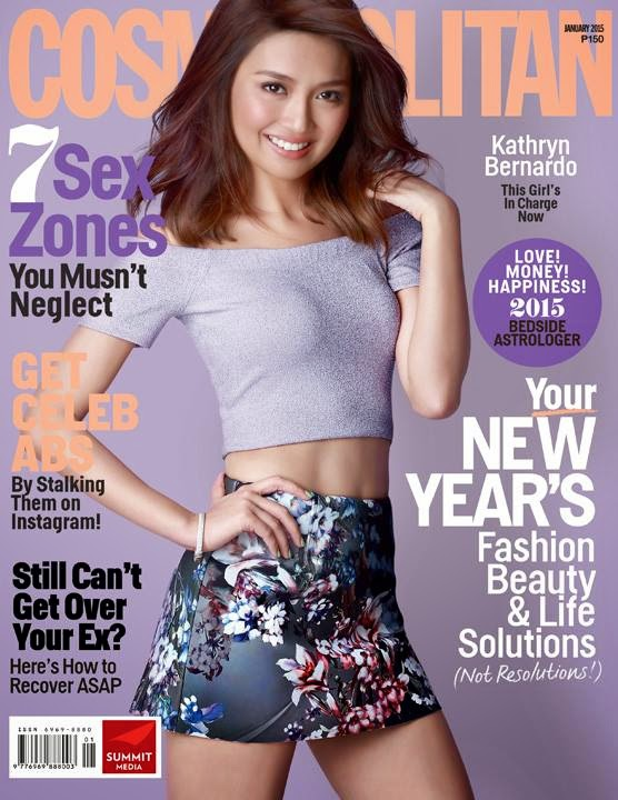 Kathryn Bernardo Cosmopolitan January 2015 Cover