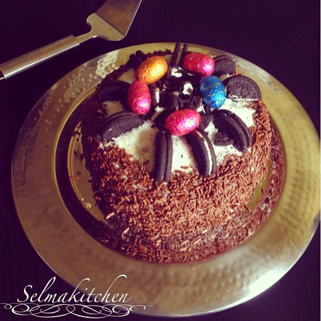 Selma Kitchen Layer Cake Chocolat Ganache Montee Chocolat Blanc