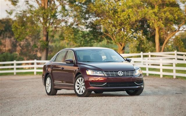 фото Volkswagen Passat SEL 2012 года