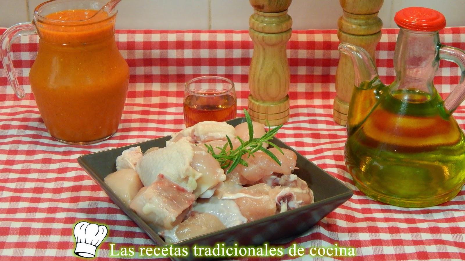Receta de pollo con salsa de tomate casera