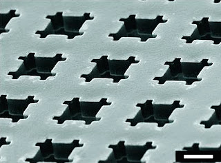 fabricated metamaterial nanostructure