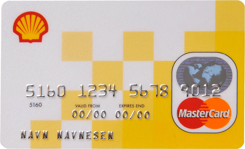 Lite kortbilde - Shell kredittkort