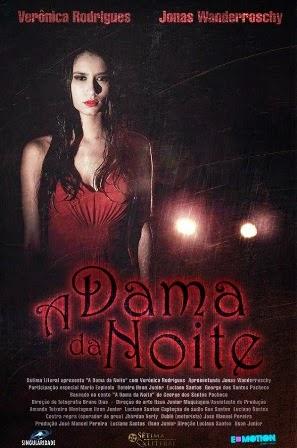 Cartaz do curta-metragem A Dama da Noite