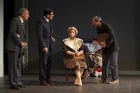 Del 8 al 12 de febrero de 2012, representaciones de 'Yo, el heredero' con Ernesto Alterio, Concha Cuetos y Fidel Almansa