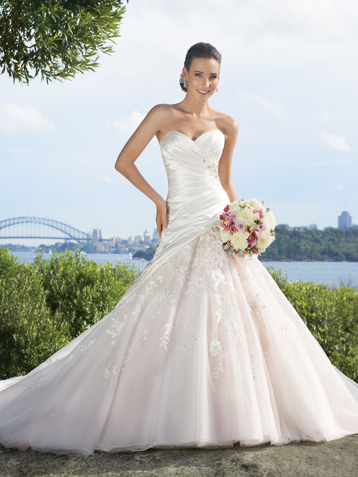 Sophia tolli spring 2013 bridal wedding dresses for Dresses for spring wedding