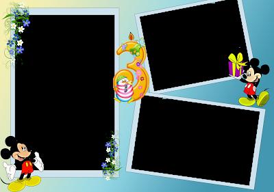marco de fotos raton mickey