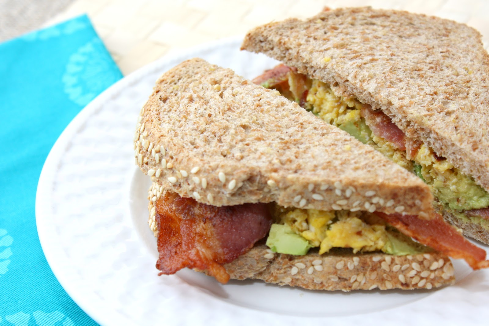 The Bitchin' Kitchin': Bacon Egg Avocado Sandwich