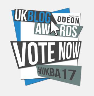 VOTE FOR US IN THE UK BLOG AWARDS