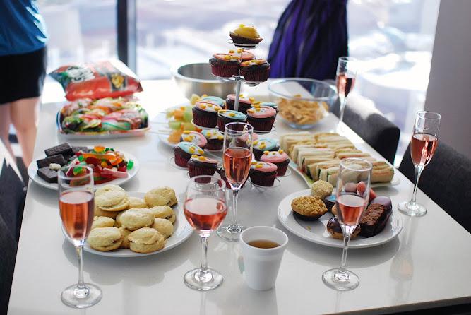 Hens Bridal Wedding Party Ideas Morning Tea Brunch