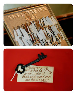 unique key escort cards
