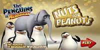 Пингвин Рико собирает орехи