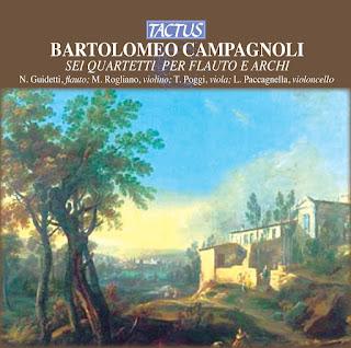 CAMPAGNOLI, B. - Flute Quartets Nos, 1-6