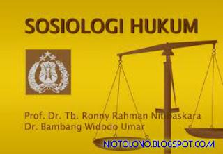 Ruang Lingkup Sosiologi Hukum