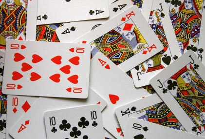 different types of gambling card games