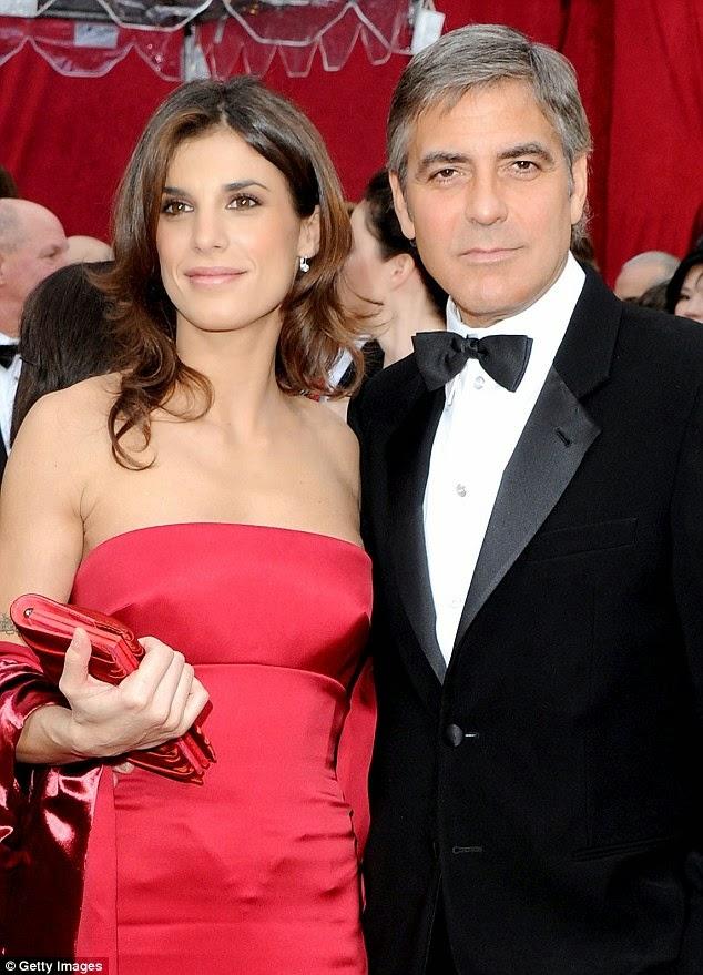 Elisabetta Canalis és George Clooney