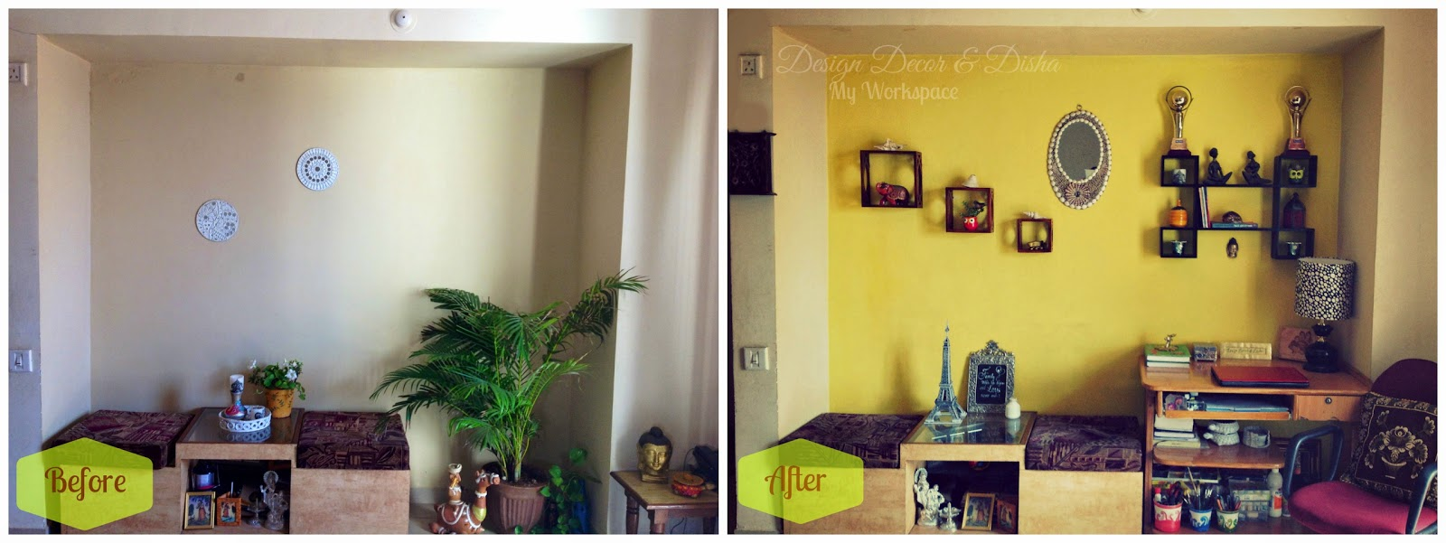 Design Decor & Disha | An Indian Design & Decor Blog: My Home Office ...