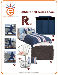 sports room ideas, sport theme room, room decor, ideas by Aaron Christensen