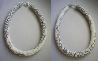Схемы жгутов крючком из бисера
