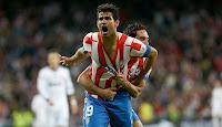 Diego Costa celebra el 1-1