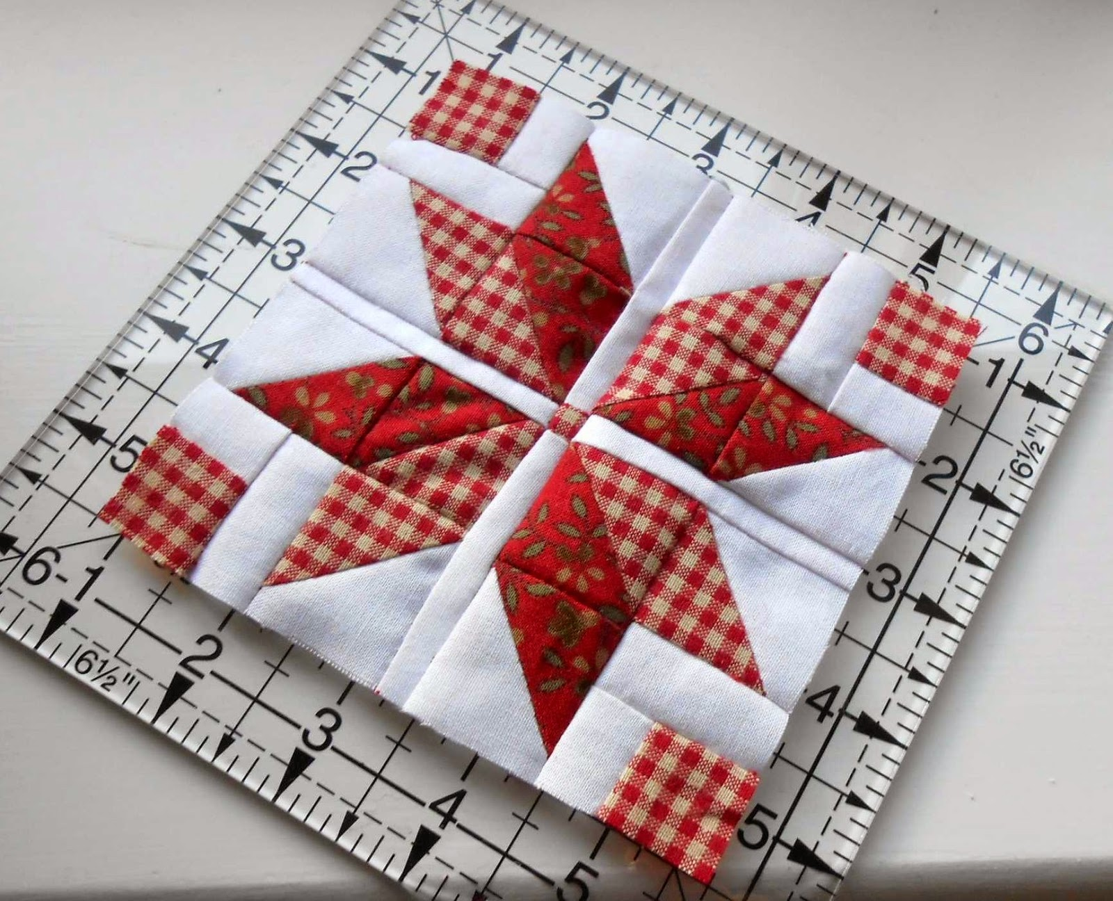 Mini Quilt Block Template Set : The Patchsmith: Nordic Mini Quilt Sew Along