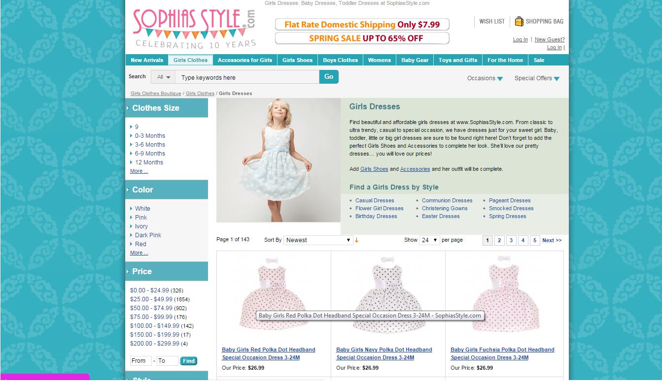 Sophias style coupon code