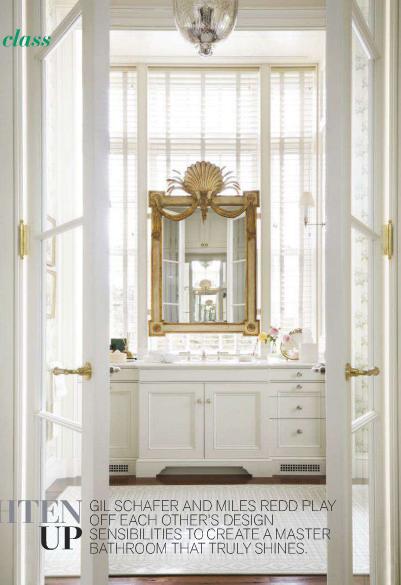 Splendid Sass: Gil Schafer And Miles Redd ~ Bathroom Design In New