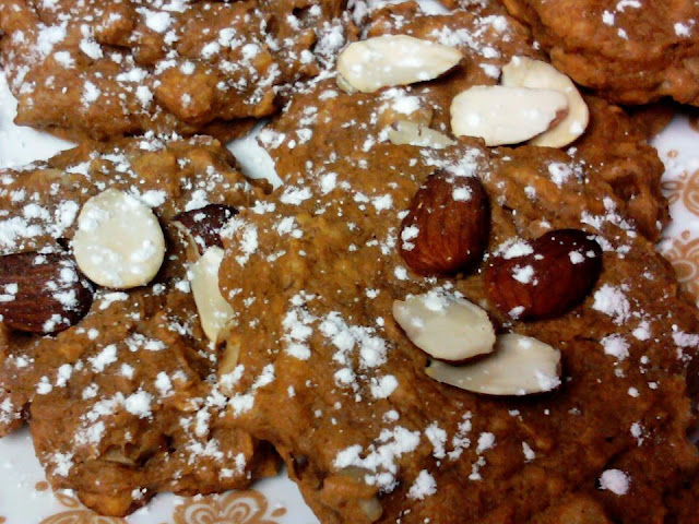 Pumpkin Walnut Cookies