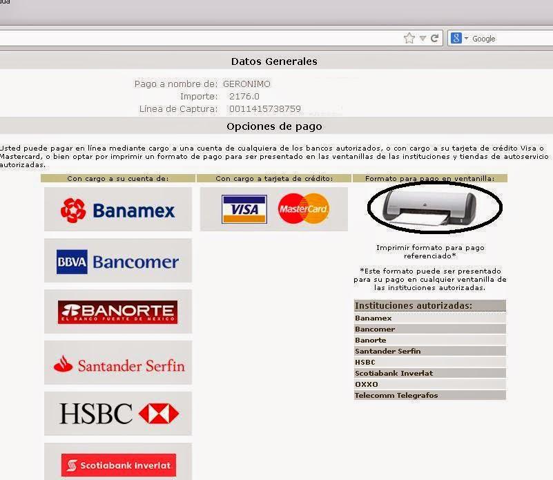 Imprimir Formato Para Pagar Tenencia | newhairstylesformen2014.com