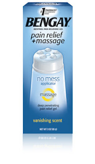 Bengay Pain Relief and massage gel