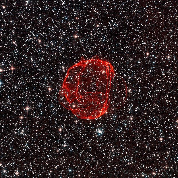 Supernova Remnant SNR B0519-69.0
