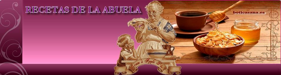 RECETAS VEGETARIANAS DE LA ABUELA | SALUD | HERBOLARIOS Y BOTICA SANA