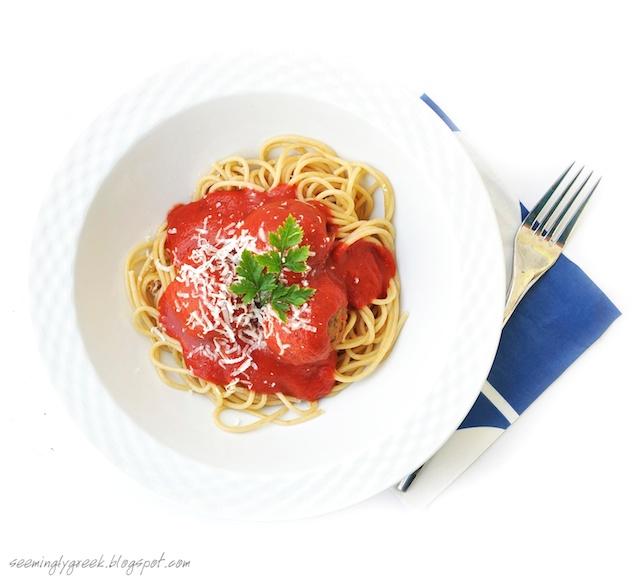 lentil spaghetti+10 Spaghetti with Lentil Meat(less)Balls?