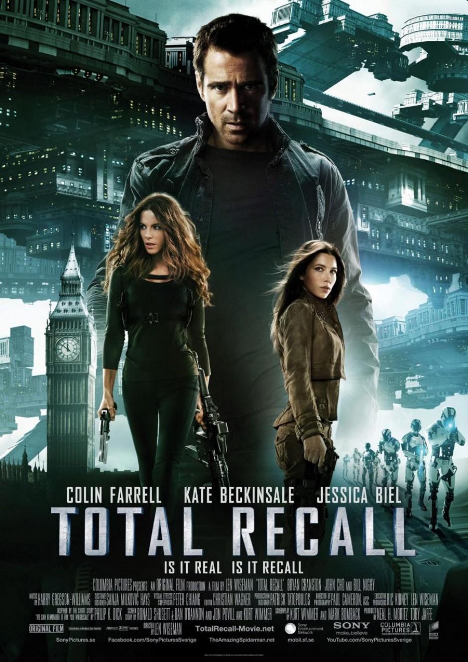 EL VENGADOR DEL FUTURO (TOTAL RECALL) (2012)