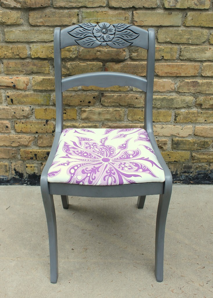 antique white another tell city chair done