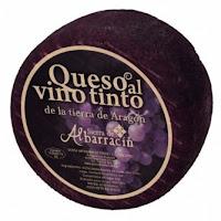 Queso al vino tinto de Sierra de Albarracín - Aragón