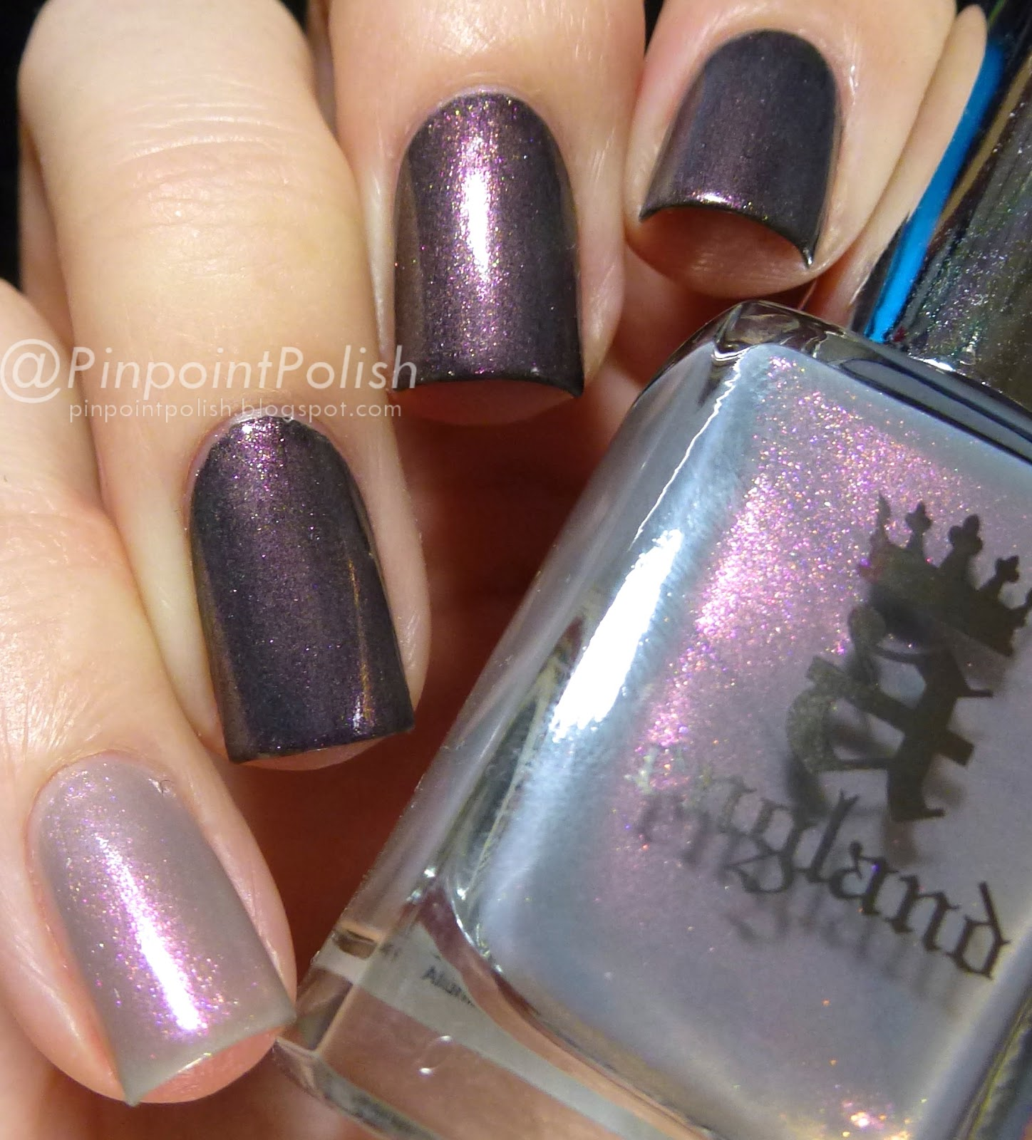 Hurt No Living Thing, a-england, Heavenly quote, swatch