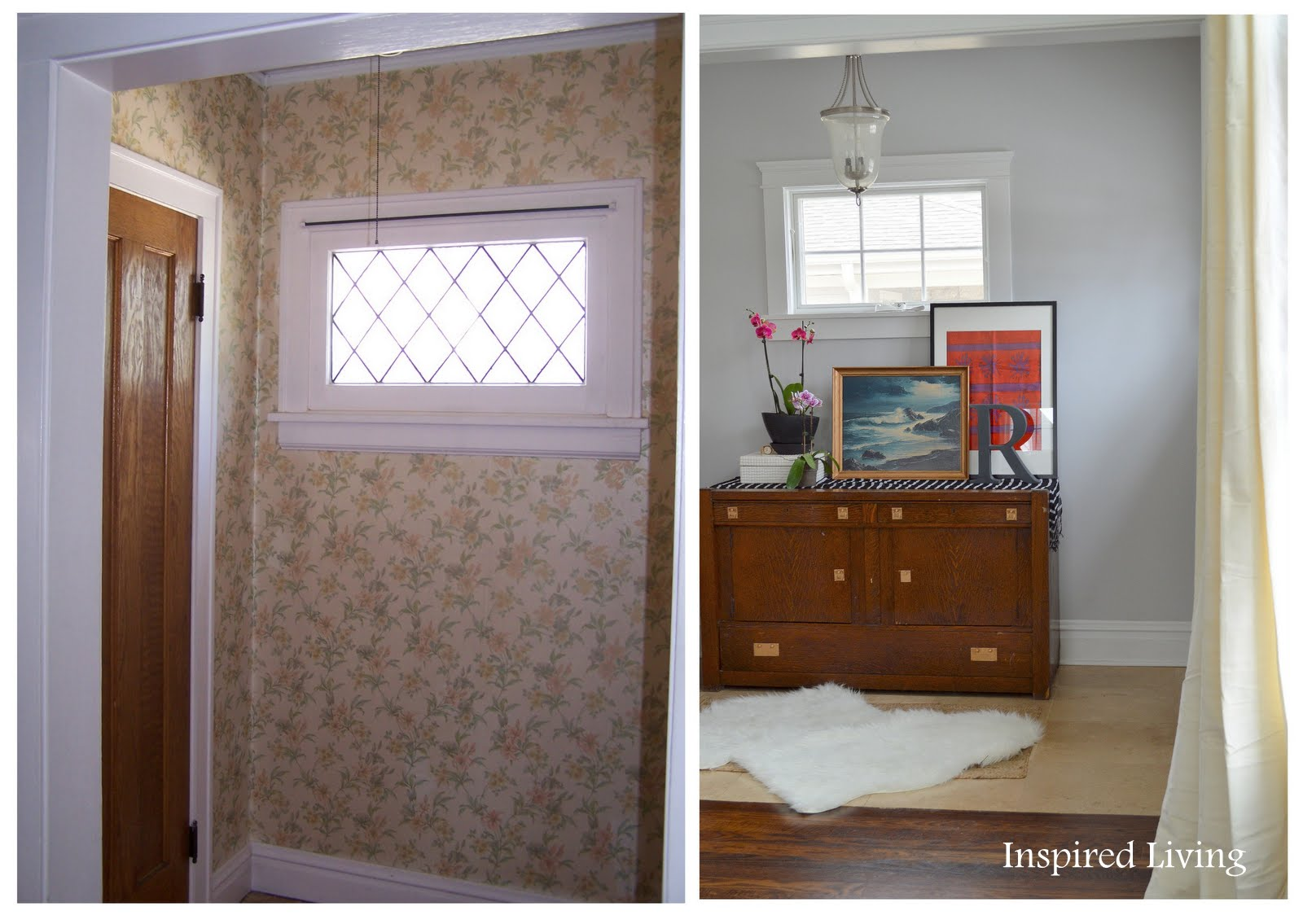 Inspired Living: Living Room Before and Afters