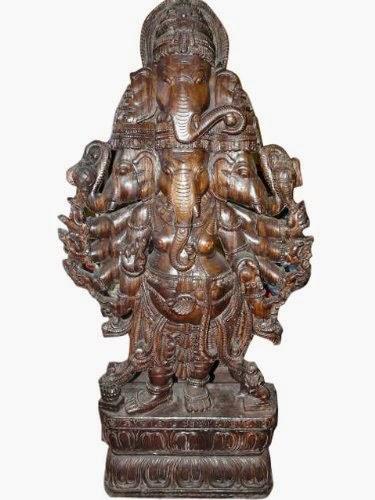 http://www.mogulinteriordesigns.com/Hindu-Ganesh-Wooden-Sculpture-Panchmukha-Ganesha/M/B00CZ5W768.htm