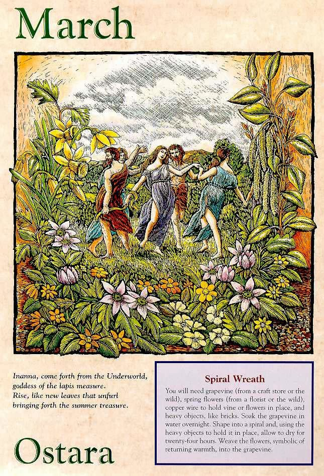 Dance the Spring Dance my witches