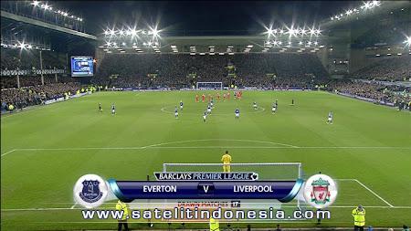 TV yang menyiarkan Liverpool Vs Everton