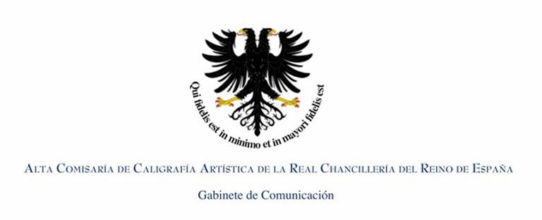 ALTA COMISARIA de CALIGRAFÍA ARTÍSTICA