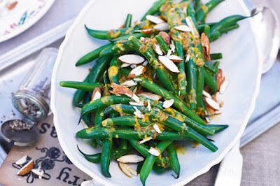 Green bean salad with cumin & orange dressing Recipe