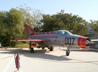 """Hatzerim 201206 MiG21"" by Oren Rozen - Own work. Licensed under CC BY-SA 3.0 via Commons - https://commons.wikimedia.org/wiki/File:Hatzerim_201206_MiG21.jpg#/media/File:Hatzerim_201206_MiG21.jpg"