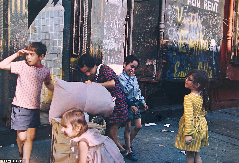 wonderful vintage color photos of everyday in new